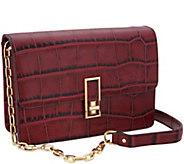 G.I.L.I. Leather Turnlock Shoulder Bag - A299084