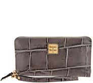Dooney & Bourke Croco Embossed Leather Wallet-Pembrook - A300784