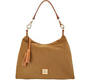 Dooney & Bourke Nylon Hobo Handbag- Juliette - A308484