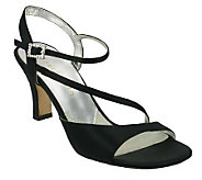 David Tate Beverly Dress Satin Sandals - A316184