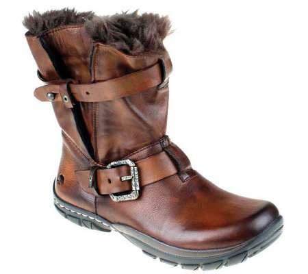 Kalso Earth Shoe Outlier Leather Boots