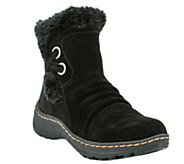 BareTraps Cold Weather Short Leather Ankle Boots - Adalyn - A355584
