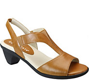 David Tate Leather Sandals - Accord - A357684