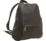 Le Donne Leather U-Zip Backpack - A359384