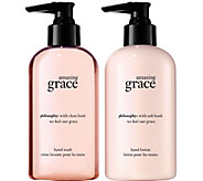 philosophy amazing grace hand care duo - A359584