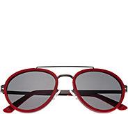 Breed Gemini Red Titanium Sunglasses w/ Polarized Lenses - A361284