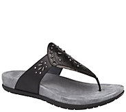 Dansko Leather Flip Flops - Benita - A412384