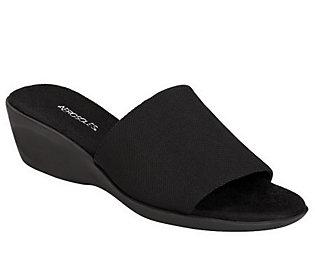 Aerosoles Badminton Wedge Slide Sandals