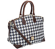 Dooney & Bourke Coated Cotton Houndstooth Satchel - A257685