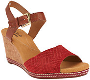Clarks Nubuck and Leather Wedges - Helio Jet - A260785