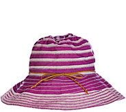 San Diego Two-Tone Collapsible Sun Hat - A275085