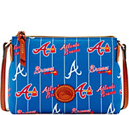 Dooney & Bourke MLB Nylon Braves Crossbody Pouchette - A281585