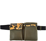 G.I.L.I. Leather Haloguard Fanny Pack with Camo Trim - A285785