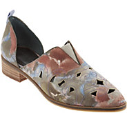 Lori Goldstein Collection Perforated Western Slip-on Shoe - A302885