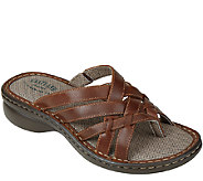 Eastland Leather Thong Sandals - Lila - A336485