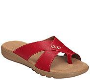 Aerosoles Core Comfort Slide Thong Sandals - Adjustment - A336585