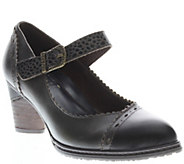 Spring Step LArtiste Leather Mary Janes - Ostentatious - A338185