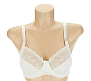Breezies Full Coverage Unlined Lace Bra - A232686