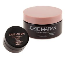 Josie Maran Whipped Argan Body Butter 8 oz. and Travel Size