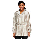 Linea by Louis DellOlio Anorak Jacket with Zipper - A251586