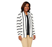Liz Claiborne New York Striped Cardigan and Tank Set - A262186
