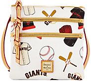 Dooney & Bourke MLB Giants Triple Zip Crossbody - A279986