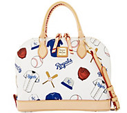 Dooney & Bourke MLB Royals Zip Zip Satchel - A280086