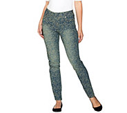 Women with Control Petite My Wonder Denim Jacquard Jean - A280886