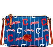 Dooney & Bourke MLB Nylon Indians Crossbody Pouchette - A281586