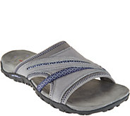 Merrell Leather Slip-On Sandals - Terran Slide II - A288686