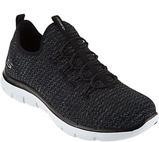 Skechers Multi Knit Slip-On Bungee Sneakers -