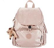 Kipling Nylon Foldover Backpack -Ravier - A299686