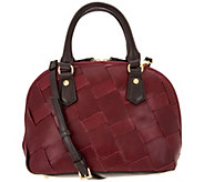 Tignanello Vintage Leather Vienna Mini Dome Crossbody - A300886