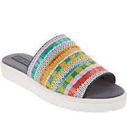 Lori Goldstein Collection Slip On Woven Sandal - A302886