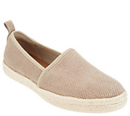 Clarks Leather or Suede Slip-on Espadrilles - Azella Revere - A304286