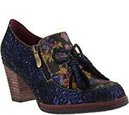 Spring Step LArtiste Leather Slip-On Shoes - Madalena - A360486