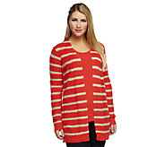 Liz Claiborne New York Striped Knit Cardigan Set - A240287