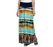George Simonton Petite Milky Knit Printed Maxi Skirt - A253087