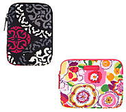 Vera Bradley Signature Print Neoprene Medium Tablet Sleeve - A255187