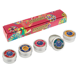LOccitane Tiny Tins of Delight Pure Shea 5-pc Collection