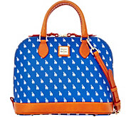 Dooney & Bourke MLB Dodgers Zip Zip Satchel - A280087