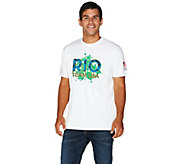 Olympics Rio Team USA 2016 Mens Short Sleeve T-Shirt - A284087