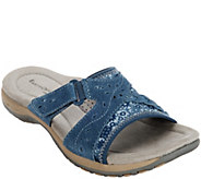 Earth Origins Suede Slide Sandals - Sander - A289787