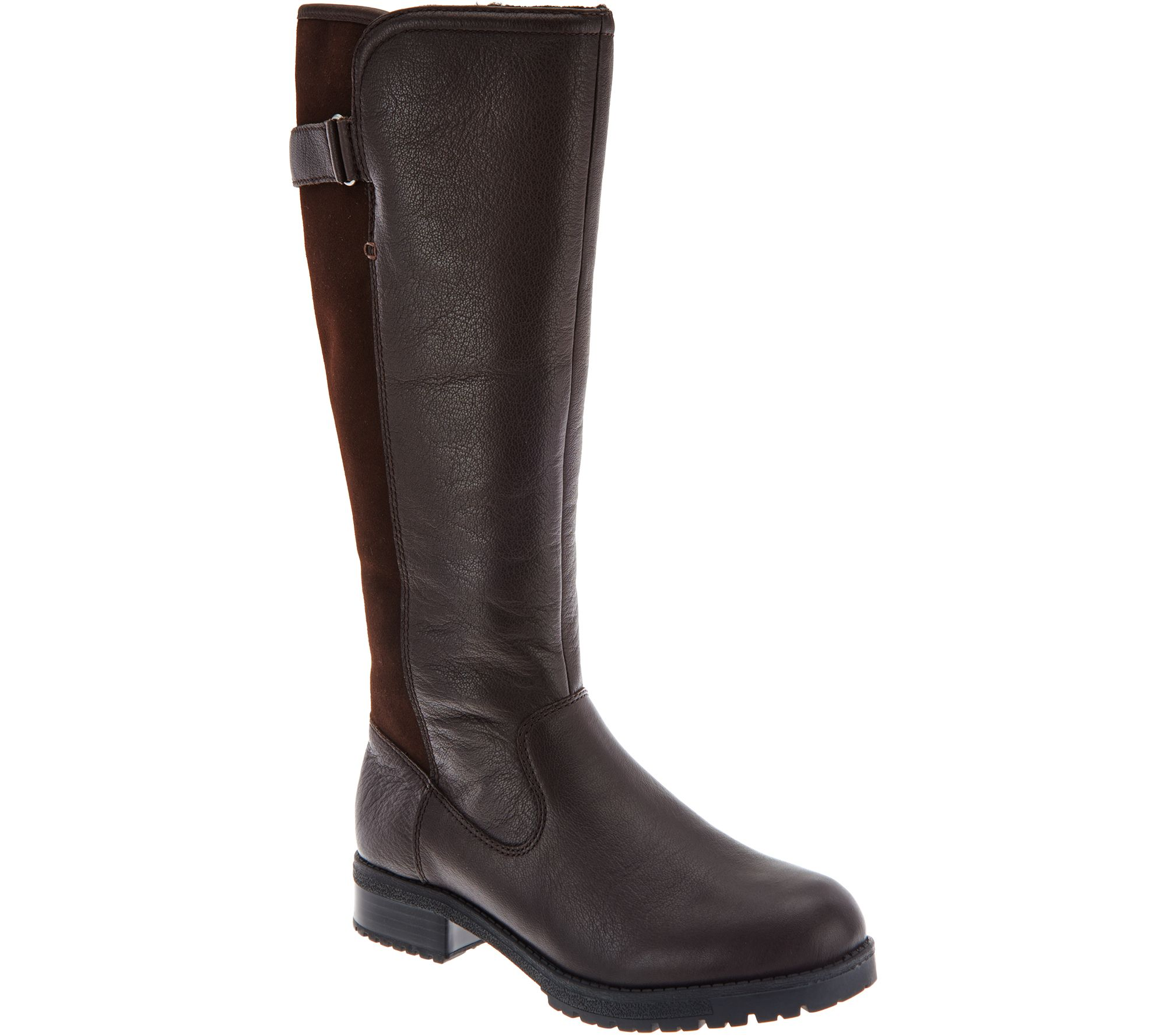 quot as is quot clarks leather waterproof shaft boots