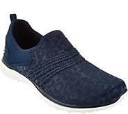 As Is Skechers Leopard Mesh Slip-on Sneakers - A297487