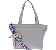 Kipling Nylon Shopper with Printed Strap - A299687