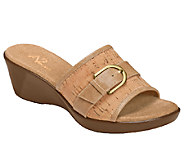 A2 by Aerosoles Eyes on You Slide Wedge Sandals - A333487