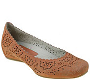 Earthies Leather Slip-On Flats - Bindi - A334487