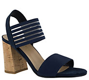 Bella Vita Block Heel Sandals - Dan-Italy - A363587
