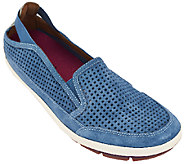 Cobb Hill by New Balance Suede Slip-on Sneakers - Tara - A224988